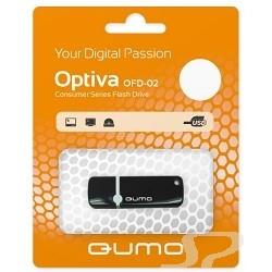 Носитель информации QUMO USB 2.0  8GB Optiva 02 Black [QM8GUD-OP2-black] - 15441
