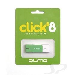 Носитель информации QUMO USB 2.0  8GB Click [QM8GUD-CLK-Mint] - 15456