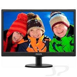 """Монитор PHILIPS LCD  18.5"""" 193V5LSB2/ 10 62 Black - 3976"""