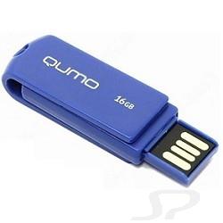 Носитель информации QUMO USB 2.0  16GB Twist Cobalt [QM16GUD-TW-Cobalt] - 15406