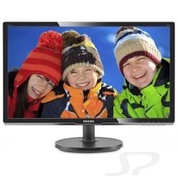 """Монитор Philips LCD  19,5"""" 206V6QSB6/ 62 10 Black - 61293"""